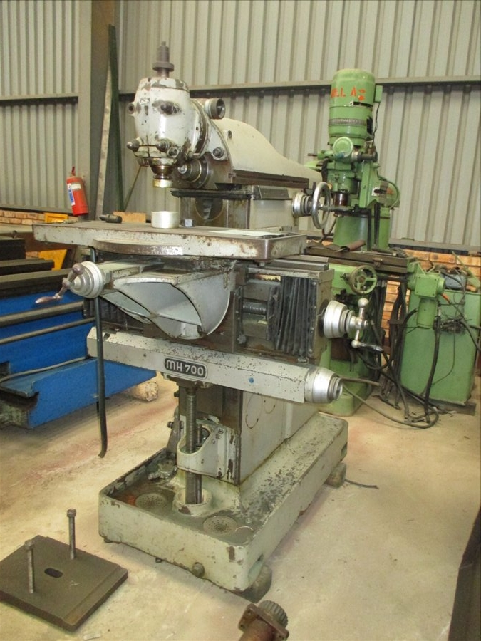 used milling machine tools